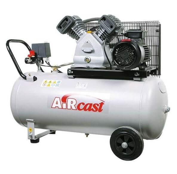 AIRCAST REMEZA СБ4/С-100.LB30  (100 л., 420л/мин., 10 бар, 2,2 кВт, 380В)