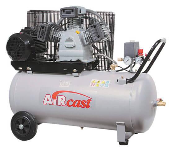 AIRCAST REMEZA СБ4/С-100.LB40 (100л, 530 л/мин, 10 бар, 3,0 кВт, 380 В)
