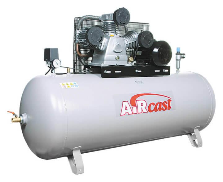 AIRCAST REMEZA СБ4/Ф-270.LB75 (270л, 880 л/мин, 10 бар, 5,5 кВт, 380 В)