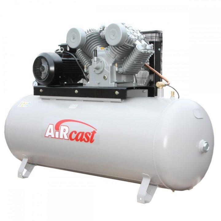 AIRCAST REMEZA СБ4/Ф500.LT100/16-7,5 (500л, 1400 л/мин, 16 бар, 7,5 кВт, 380 В)