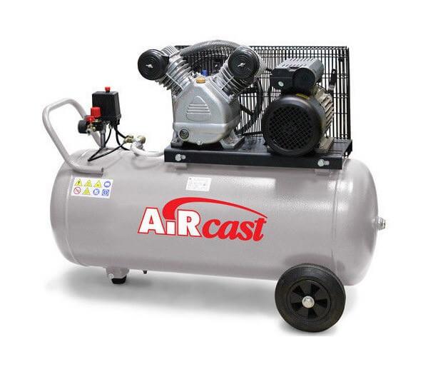 AIRCAST REMEZA СБ4/С-100.LB30A (100л, 420 л/мин, 10 бар, 2,2 кВт, 220 В)