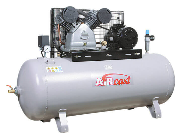 AIRCAST REMEZA СБ4/С-100.LB50 (100л, 630 л/мин, 10 бар, 4,0 кВт, 380 В)