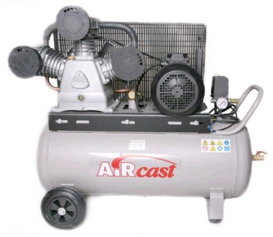 AIRCAST REMEZA СБ4/С-100.LB75 (100л, 880 л/мин, 10 бар, 5,5 кВт, 380 В)