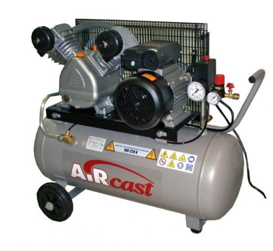 AIRCAST REMEZA СБ4/С-50.LB24А (50л, 360 л/мин, 10 бар, 2,2 кВт, 220 В)