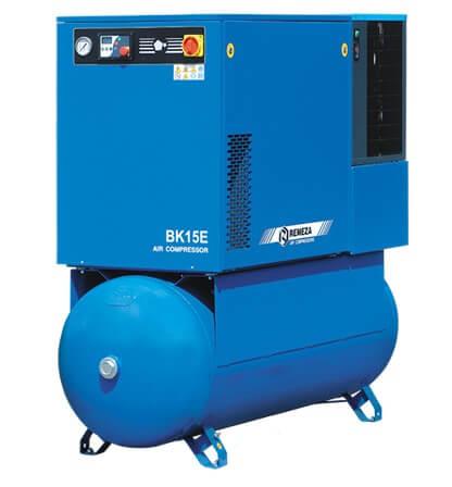 Винтовые компрессоры с ременным приводом:мощность 4,0 - 15 кВт