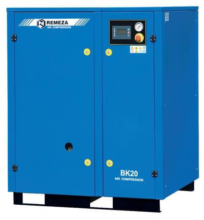 Винтовые компрессоры с ременным приводом:мощность 15-37 кВт